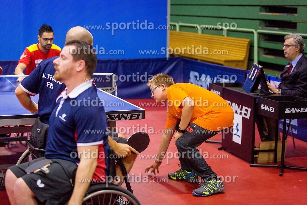 during day 6 of 15th EPINT tournament - European Table Tennis Championships for the Disabled 2017, at Arena Tri Lilije, Lasko, Slovenia, on October 3, 2017. Photo by Ziga Zupan / Sportida