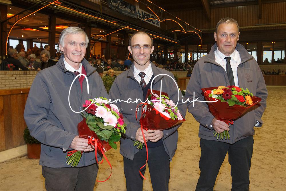Jury<br /> BWP Hengstenkeuring 2014<br /> Zilveren Spoor Moorsele 2014<br /> &copy; Dirk Caremans
