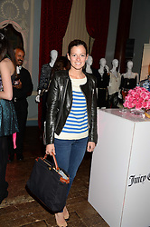 SERENA NIKKHAH at the Juicy Couture - Viva La Juicy perfume Party held at Home House, Portman Square, London on 30th May 2013.