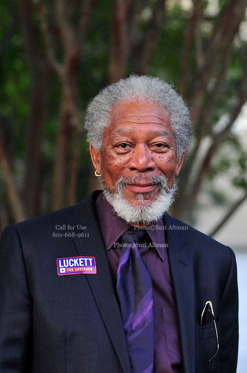 Actor Morgan Freeman. Photo©Suzi Altman