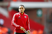 Kean Bryan of Sheffield United before the Premier League match between Sheffield United and Crystal Palace at Bramall Lane, Sheffield, England on 18 August 2019.