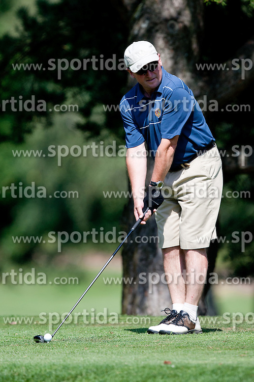 Bojan Krizaj at Anze's Eleven and Triglav Charity Golf Tournament, on June 30, 2012 in Golf court Bled, Slovenia. (Photo by Matic Klansek Velej / Sportida)