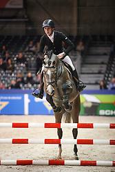 Billington James (GBR) - Fabriano VDL<br /> KWPN Stallion Selection - 's Hertogenbosch 2014<br /> © Dirk Caremans