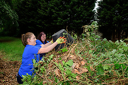 Pictured is Katy Fryer, left, and Hayley Smith<br /> <br /> Lincolnshire Co-op colleagues and volunteers from the local community have been helping look after the Hartsholme area of Lincoln by taking part in the ongoing Big Co-op Clean.<br /> <br /> Picture: Chris Vaughan Photography for Lincolnshire Co-op<br /> Date: June 4, 2019