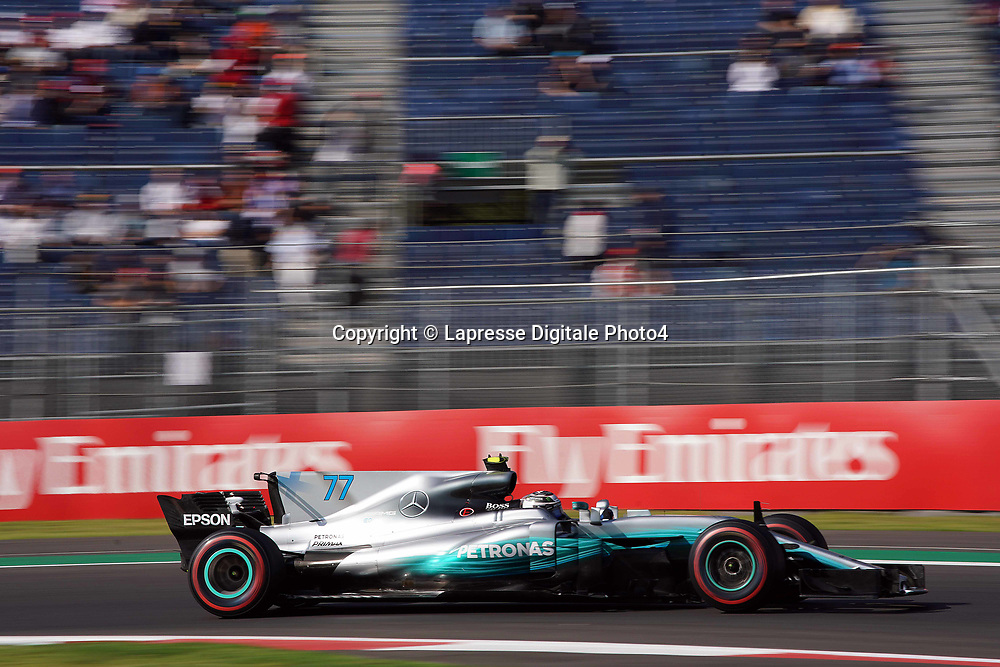 &copy; Photo4 / LaPresse<br /> 27/10/2017 Mexico City, Mexico<br /> Sport <br /> Grand Prix Formula One Mexico 2017<br /> In the pic: Valtteri Bottas (FIN) Mercedes AMG F1 W08
