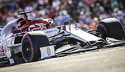 November 3, 2019, Austin, United States of America: Motorsports: FIA Formula One World Championship 2019, Grand Prix of United States, ..#7 Kimi Raikkonen (FIN, Alfa Romeo Racing) (Credit Image: © Hoch Zwei via ZUMA Wire)