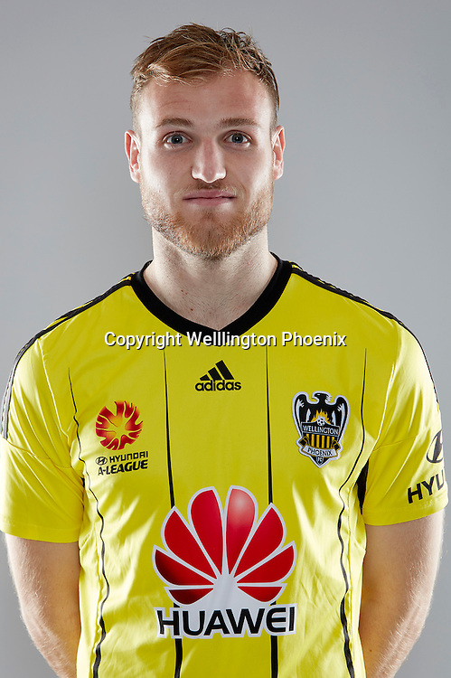 Hamish Watson.<br /> Headshots of the Wellington Phoenix Football team for the Hyundai A-League 2016-17 season.
