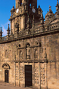 SPAIN, GALICIA, SANTIAGO Cathedral 'Door of Pardon' c.1611