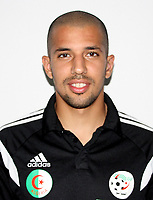 Confederation of African Football - World Cup Fifa Russia 2018 Qualifier / <br /> Algeria National Team - Preview Set - <br /> Sofiane Feghouli