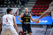 DESCRIZIONE : Varese FIBA Eurocup 2015-16 Openjobmetis Varese Telenet Ostevia Ostende<br /> GIOCATORE : Dusan Djordjevic<br /> CATEGORIA : Palleggio<br /> SQUADRA : Telenet Ostevia Ostende<br /> EVENTO : FIBA Eurocup 2015-16<br /> GARA : Openjobmetis Varese - Telenet Ostevia Ostende<br /> DATA : 28/10/2015<br /> SPORT : Pallacanestro<br /> AUTORE : Agenzia Ciamillo-Castoria/M.Ozbot<br /> Galleria : FIBA Eurocup 2015-16 <br /> Fotonotizia: Varese FIBA Eurocup 2015-16 Openjobmetis Varese - Telenet Ostevia Ostende