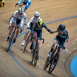 29-12-2019: Wielrennen: NK Baan: Alkmaar <br />Maike van der Duin en Nina Kessler
