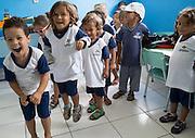 Atividades e fam&iacute;lias escutadas pelo UNICEF durante a semana do bebe em Pernambuco<br /> Crian&ccedil;as na Creche Municipal Vov&oacute; Maria , de Agrestina , Pernambuco