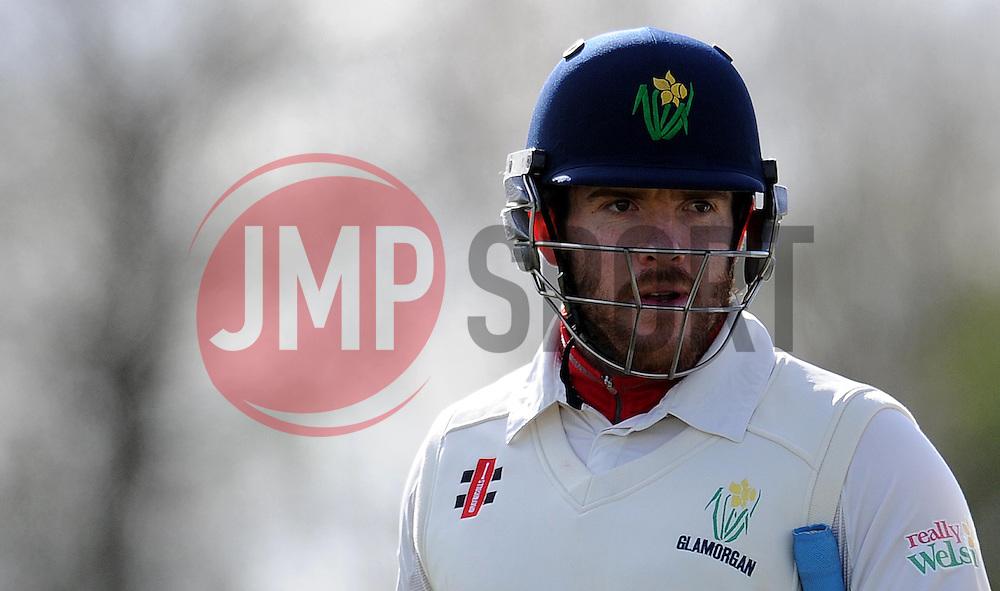 Glamorgan's William Bragg - Photo mandatory by-line: Harry Trump/JMP - Mobile: 07966 386802 - 24/03/15 - SPORT - CRICKET - Pre Season Fixture - Day 2 - Somerset v Glamorgan - Taunton Vale Cricket Club, Somerset, England.