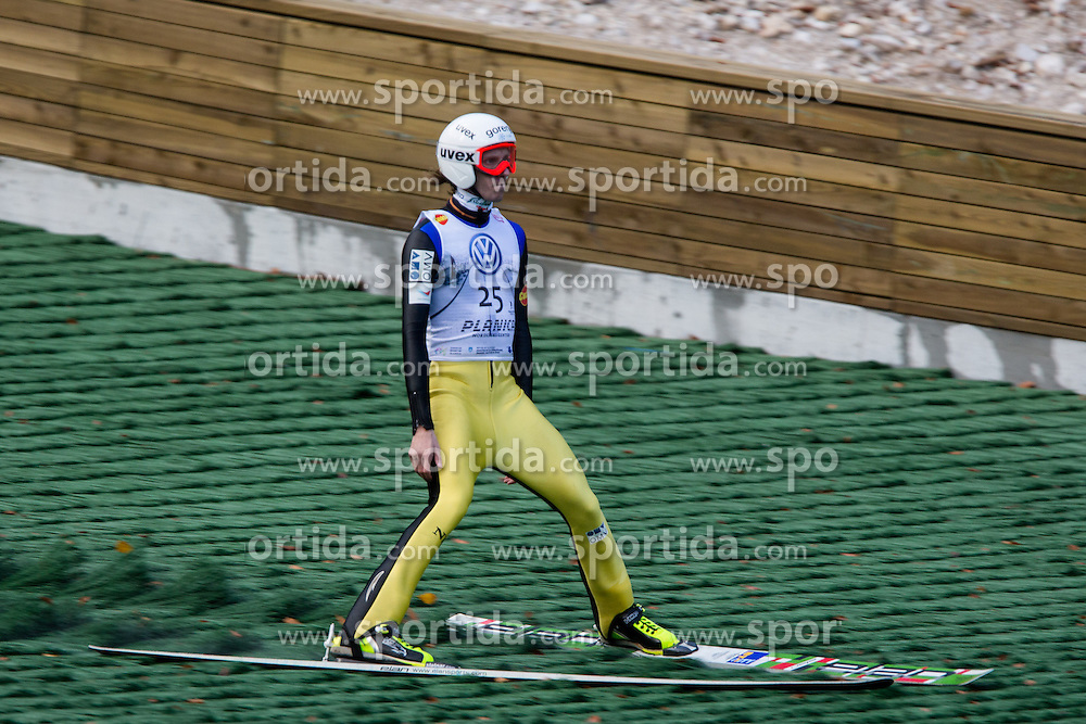 Primoz Pikl during Slovenian summer national championship and opening of the reconstructed Bloudek's hill in Planica on October 14, 2012 in Planica, Ratece, Slovenia. (Photo by Matic Klansek Velej / Sportida)