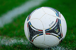 Tango 12 Ball during football match between ND Gorica and NK Triglav in 16th Round of PrvaLiga NZS 2012/13 on November 3, 2012 in Nova Gorica, Slovenia. (Photo By Vid Ponikvar / Sportida)