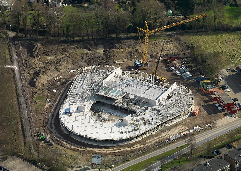 Nieuwbouw Pontes Goese Lyceum. De nieuwbouw vindt plaats op locatie de weitjes aan de oranjeweg ter vervanging van de bestaande locaties aan de van dusseldorpstraat en vogelzangseweg