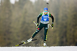 Franziska Preuss (GER) during Women 15km Individual at day 5 of IBU Biathlon World Cup 2018/19 Pokljuka, on December 6, 2018 in Rudno polje, Pokljuka, Pokljuka, Slovenia. Photo by Ziga Zupan / Sportida