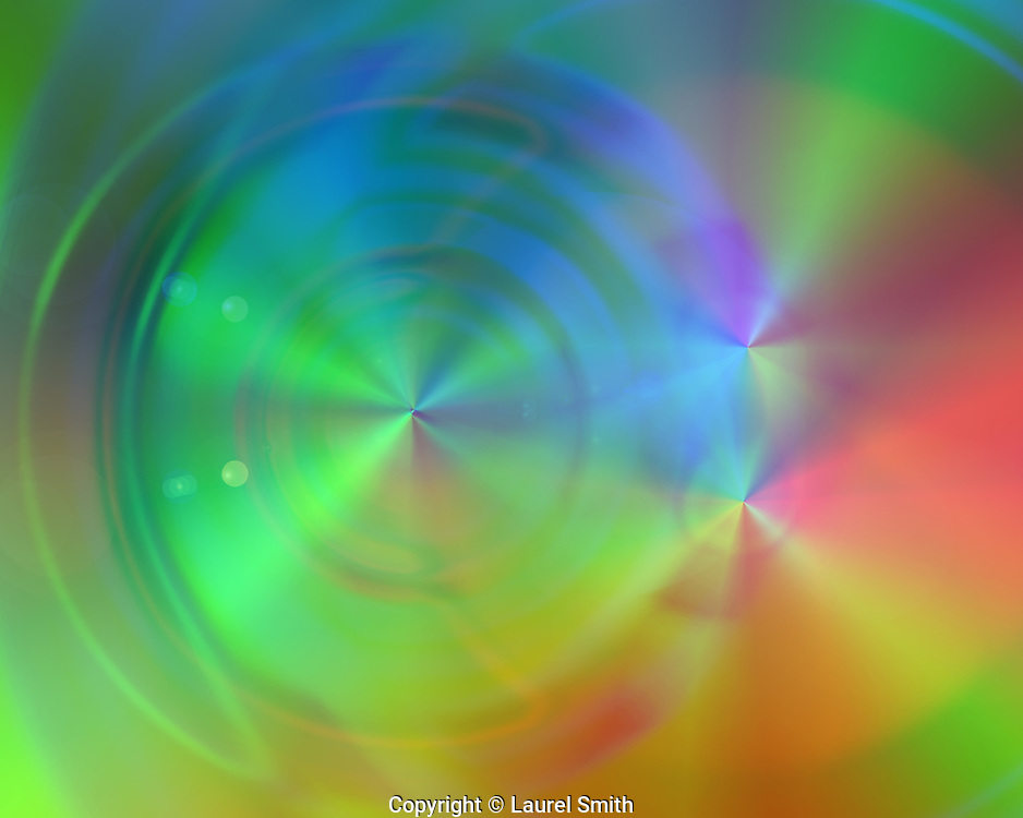 The Golden Age is NOW #18 ~ <br /> Created on the Summer Solstice 2015. This series reveals a time travel portal that can be used by the viewer in meditation or mystical visionary journey to bring forth the presence of the Golden Age. ~ © Laurel Smith