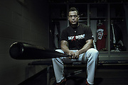 Giancarlo Stanton for Six Star Pro Nutrition by sports commercial and advertising photographer Reggie Ferraz.