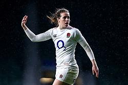 Emily Scarratt of England Women - Mandatory by-line: Robbie Stephenson/JMP - 16/03/2019 - RUGBY - Twickenham Stadium - London, England - England Women v Scotland Women - Women's Six Nations