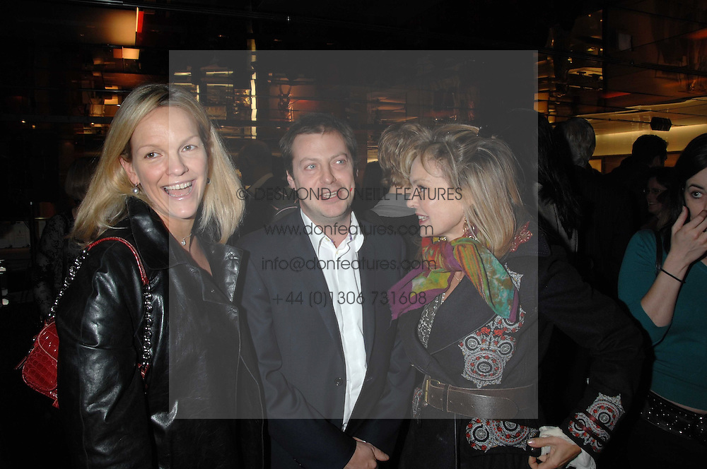 Left to right, ELISABETH MURDOCH daughter of Media <br />