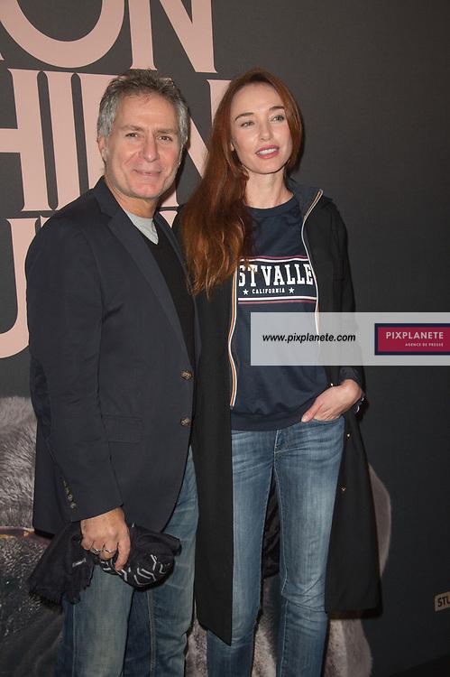 Laurent Olmedo - Delphine Rollin Avant première du film Mon chien stupide Mardi 22 Octobre 2019 UGC Normandie Paris