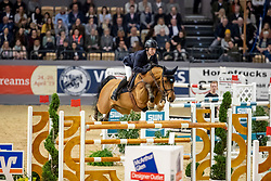 Lindelow Douglas, SWE, Casquo Blue<br /> Grand Prix Jumping<br /> Neumünster - VR Classics 2019<br /> © Hippo Foto - Stefan Lafrentz