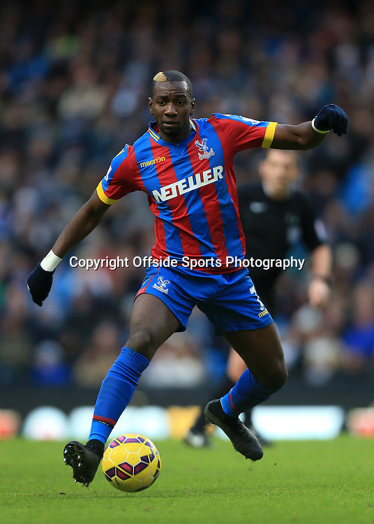 20th December 2014 - Barclays Premier League - Manchester City v Crystal Palace - Yannick Bolasie of Palace - Photo: Simon Stacpoole / Offside.