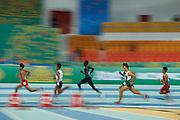 Ashgabat, Turkmenistan - 2017 September 18:<br /> while Indoor Athletics competition during 2017 Ashgabat 5th Asian Indoor &amp; Martial Arts Games at Indoor Athletics Arena (ATH) at Ashgabat Olympic Complex on September 18, 2017 in Ashgabat, Turkmenistan.<br /> <br /> Photo by &copy; Adam Nurkiewicz / Laurel Photo Services