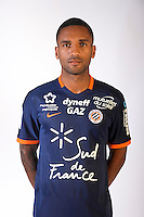 Joris Marveaux during the photocall of Montpellier for new season of Ligue 1 on September 27th 2016 in Montpellier<br /> Photo : Mhsc / Icon Sport