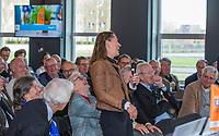 UTRECHT -  Liesbeth Leeflang-Crezée.   Algemene Ledenvergadering van de Nederlandse Golf Federatie NGF.   COPYRIGHT KOEN SUYK
