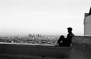 View from the Griffith Observatory in 1996.