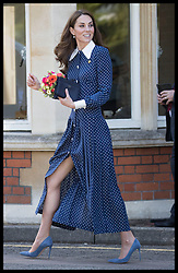 May 14, 2019: Bletchley, United Kingdom: CATHERINE, Duchess of Cambridge leaving Bletchley Park, United Kingdom, after viewing a special D- Day exhibition in the newly restored Teleprinter Building, marking the 75th anniversary of the D-Day landings. (Credit Image: © Stephen Lock/i-Images via ZUMA Press)