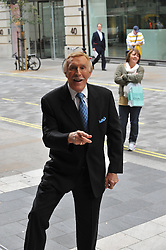 © Copyright licensed to London News Pictures. 12/10/2010. Bruce Forsyth arrives at the 100th birthday celebration for the London Palladium. Andrew Lloyd-Webber hosts a celebration to mark the centenary of the London Palladium.