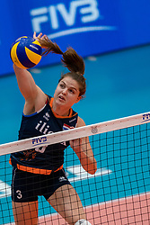 02-08-2019 ITA: FIVB Tokyo Volleyball Qualification 2019 / Belgium - Netherlands, Catania<br /> 1e match pool F in hall Pala Catania between Belgium - Netherlands / Yvon Beliën #3 of Netherlands