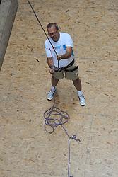 11-07-2011 ALGEMEEN: SPORTKAMP SNOWWORLD BVDGF: LANDGRAAF<br /> Bas van de Goor Foundation organiseerde in Snowworld Landgraaf zijn eerste Zomer sportkamp - klimsport klimmen<br /> ©2011-FotoHoogendoorn.nl