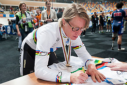 POWELL Susan, AUS, Pursuit Finals , 2015 UCI Para-Cycling Track World Championships, Apeldoorn, Netherlands