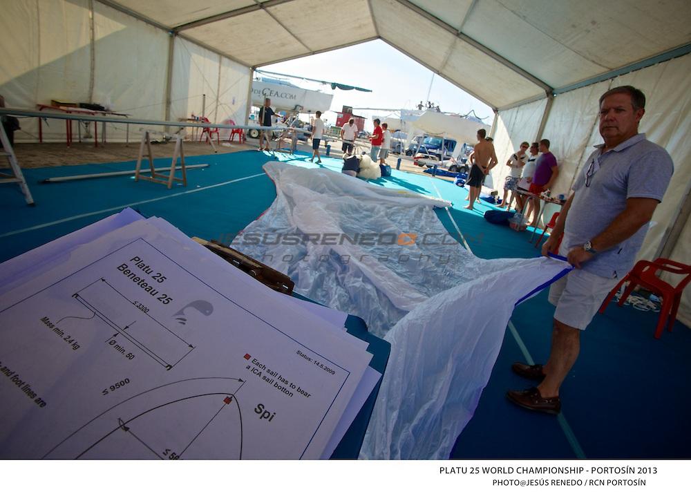 Platu 25 World Championships, Portosín , Galicia, Spain. 24-29 Septmber 2013