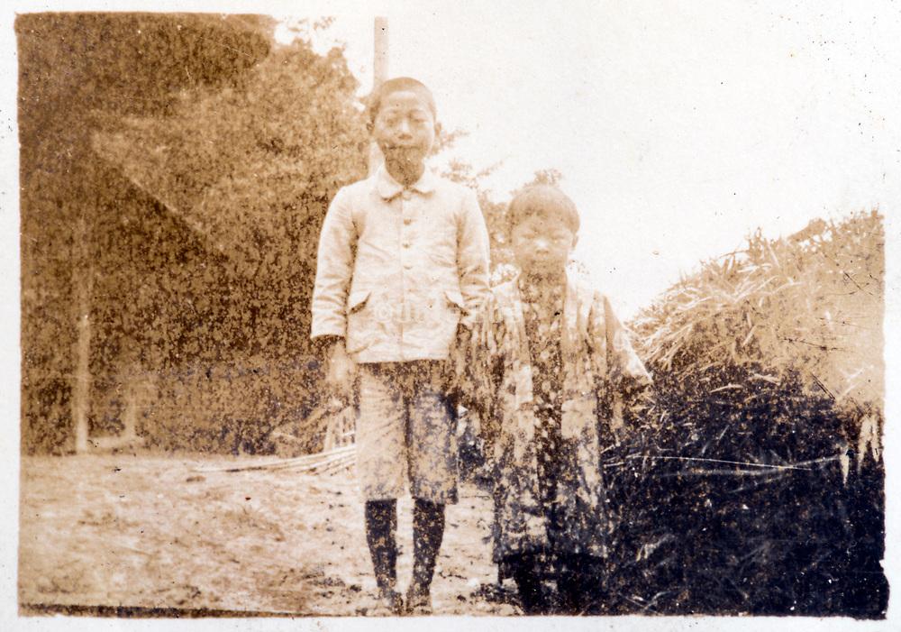 rural children Japan ca 1930s