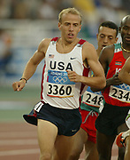 Alan Webb of the United States finished ninth in first-round heat of the 1,500 meters in 3:41.25 in the 2004 Olympics in Athens, Greece on Friday, August 20, 2004.