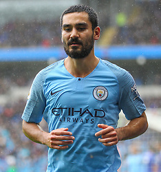 September 22, 2018 - Cardiff City, England, United Kingdom - Ilkay Gundogan of Manchester City during the Premier League match between Cardiff City and Manchester City at Cardiff City Stadium,  Cardiff, England on 22 Sept 2018. (Credit Image: © Action Foto Sport/NurPhoto/ZUMA Press)