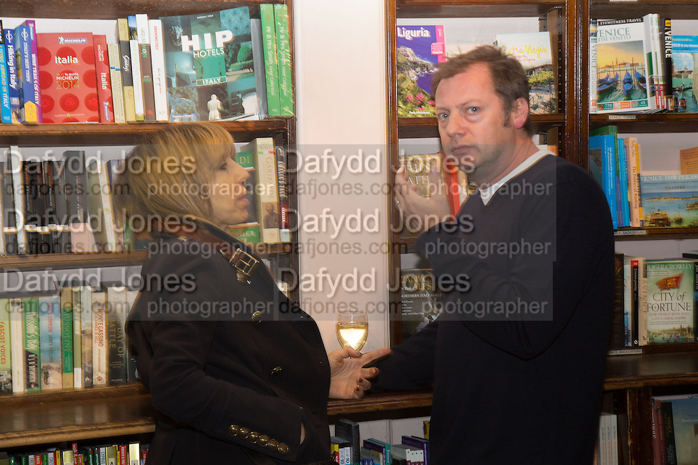 GABY DELLAL; MATTHEW FREUD, Allie Esiri's The Love Book launch party , Daunt Books <br /> 83 Marylebone High Street, London. 5 February 2014