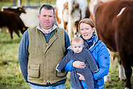 James and Valerie Orr, Amngus - Farm feature. For Farmers Journal. Payment to Craig Stephen. No re-use without payment.