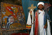 LALIBELA, WELO/ETHIOPIA..The famous rock-hewn churches, result of a delirious phantasy of King Lalibela, who had fallen into a coma due to a failed poisoning attack..(Photo by Heimo Aga)