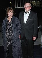 Deborah Findlay & Miles Jupp, Fast Forward - NT Fundraising Gala, National Theatre, London UK, 04 March 2015, Photo By Brett D. Cove