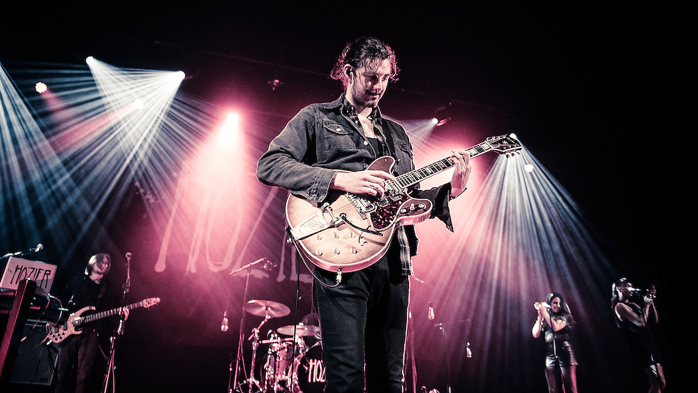 Hozier performs at the Paramount Theatre on Valentine's Day. (Photo by John Lill)