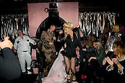 JOE CORRE; JODIE HARSH, The Premiere of DD perfume by Agent Provocateur with a DD Fashion Show. Dolce. Air St. London. 25 September 2008 *** Local Caption *** -DO NOT ARCHIVE-© Copyright Photograph by Dafydd Jones. 248 Clapham Rd. London SW9 0PZ. Tel 0207 820 0771. www.dafjones.com.