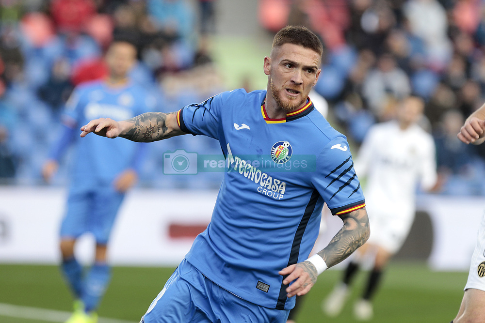 November 10, 2018 - Getafe, Madrid, Spain - Getafe CF's Vitorino Antunes during La Liga match between Getafe CF and Valencia CF at Coliseum Alfonso Perez in Getafe, Spain. November 10, 2018. (Credit Image: © A. Ware/NurPhoto via ZUMA Press)