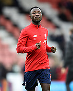 Naby Keïta (8) of Liverpool during the warm up ahead of the Premier League match between Bournemouth and Liverpool at the Vitality Stadium, Bournemouth, England on 7 December 2019.