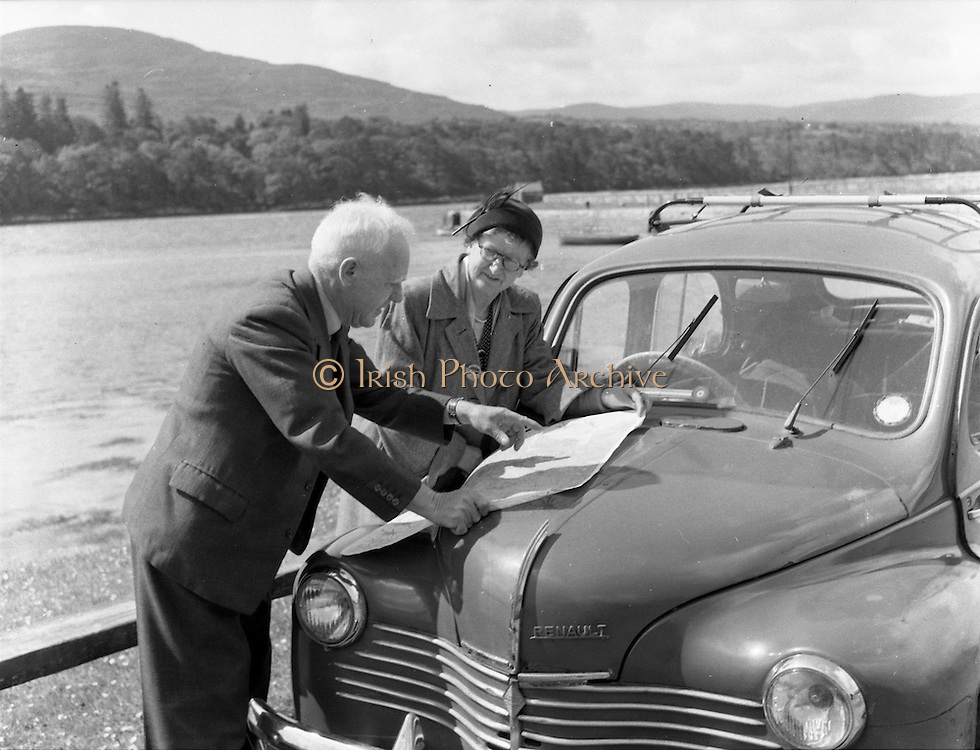 01/02/1957<br /> 02/01/1957<br /> 01 February 1957<br /> View at Kenmare Bay, Co. Kerry.